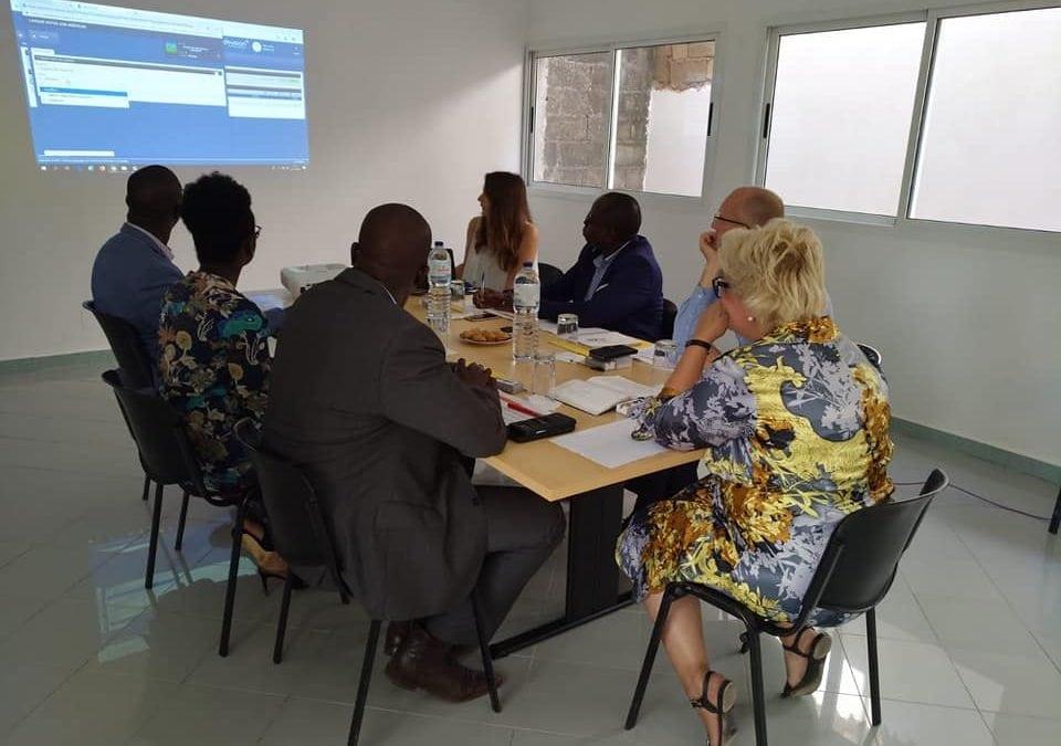 Visita da Delegação da ENABEL