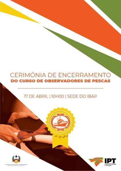 Cerimónia de Encerramento do Curso de Observadores de Pesca