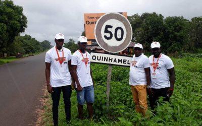 O IPT chegou à Cidade de Quinhamel, Capital da Região de Biombo