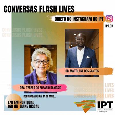 CONVERSAS FLASH LIVES!