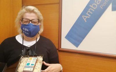 VET WEEK: O balanço, nas palavras da Sra. Embaixadora, Dra. Teresa Damásio
